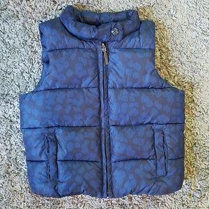 EUC Size 3 Gap puffer vest